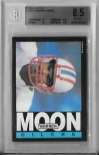 1985 TOPPS BGS 8.5 NM/MT+ WARREN MOON RC