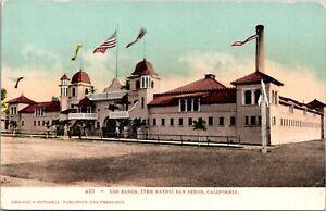 Postcard Los Banos The Baths in San Diego, California~139789