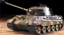 Heng Long RC Panzer Deutscher Königstiger Henschelturm, 1:16, Rauch, Sound, Meta