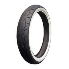 Vee Rubber VRM302 White Wall Front Tire 120/70-21