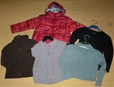 LOT FILLE -RENTREE DES CLASSES-ANORAK-GILET CAPUCHE OKAIDI- PULL-6 ANS