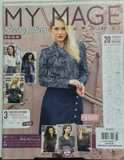 My Image Netherlands Issue 15 Sewing Patterns Latest Trends FREE SHIPPING sb