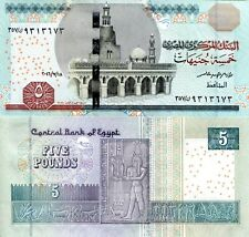 EGYPT 5 Pound Banknote World Paper Money UNC Currency Pick p72e 2017 Bill Note