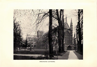 """1903 Antique Art Photo Print Winchester Cathedral Dodd Mead Co 10X6"""""""