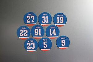 New York Islanders 1980's '9 Magnet Set: Bossy Trottier Potvin Nystrom Gillies