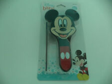 Disney Mickey Mouse Face Brush And Black Comb