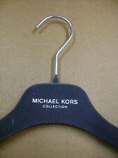 """MICHAEL KORS DESIGNER DRESS SHIRT  GREY VELVET FELT HANGERS 15""""  SET 50"""