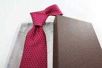 Cravatta in seta Antica Sartoria Napoletana 7 pieghe cucita mano 9029 Made in It