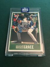 Mark Grace 2020 Topps Archives Signature Series Retired Auto 07/12!!