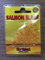 Northland Fishing Tackle - Salmon Beads - Size 4mm - Orange - 100/Bag