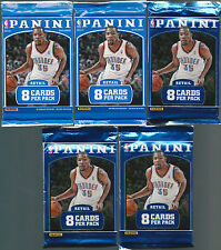 Lot of 5 - 2012-13 PANINI BASKETBALL RETAIL PACKs BUTLER IRVING DAVIS LEONARD RC