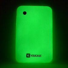 Samsung Tab 2 p3100 p3110 Day 'N' Night Glow Case in Silicone TPU GUSCIO COVER VERDE a9