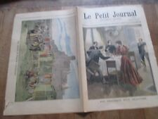 JOURNAL LE PETIT JOURNAL 422 1898 fin tragique dejeuner  hongrois carcassonne