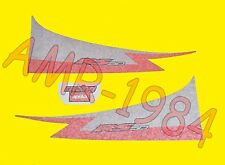 SERIE ADESIVI DECALCO CODONE APRILIA RS 50 2001 NERO DIABLO  AP8627422