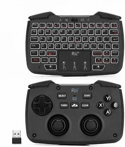 Multifunctional Wireless Portable Game Controller Rechargeable Keyboard Mouse