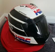 Arai RX-7V HRC Honda Motorcycle Helmet Size M Excellent Condition