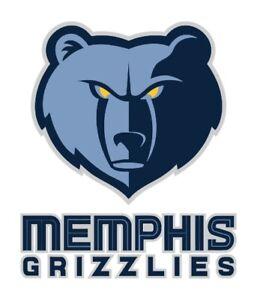 Memphis Grizzlies Precision Cut Decal