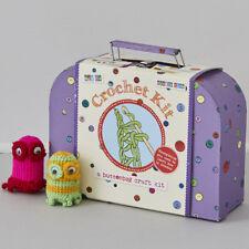 Buttonbag impara ad uncinetto KIT in una valigia-Uncinetto per bambini