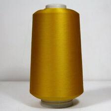 100% Seide Wolle Garn Stricken Kone Beilaufgarn Gold Gelb 500 Gr.  /217