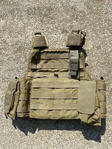 Eagle Industries SFLCS Khaki Tan MBAV Plate Carrier Modular Armor Body Vest MBSS