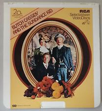 New listing Butch Cassidy & Sundance Kid Paul Newman,Redford Ced Rca Selectavision VideoDisc