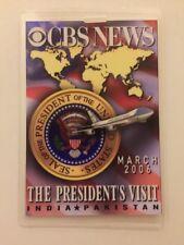 2006 President George W. Bush CBS NEWS Press Pass Visit to India & Pakistan