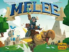 MELEE  Board Game KICKSTARTER EXCLUSIVES NEW/FREE SHIPPING Rikki Resistence Coup