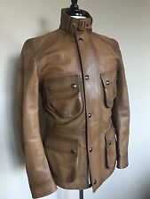 Ralph Lauren Purple Label RLPL Leather Field Jacket S Italy $4995