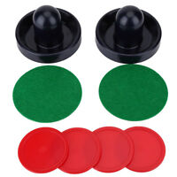 Ice Hockey 2 Pushers Goalies and 4 Pucks Felt Set Equipment For Tables Game AM