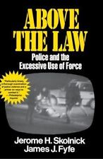 Above the Law: Police and the Excessive Use of Force (Paperback or Softback)