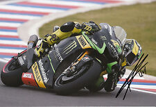 Pol Espargaro Hand Signed Monster Yamaha Tech 3 12x8 Photo 2014 MotoGP 7.