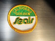 "Vintage 1970's California Golden Seals Defunct Nhl Logo 2"" Round Patch"