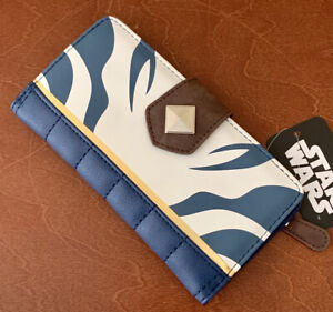 Star Wars Ahsoka Wallet Clutch NWT Bioworld