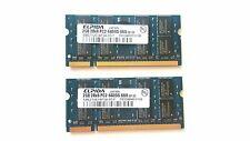 Elpida 4GB (2 X 2GB) PC2-6400-666 441591-888 EBE21UE8AFSA-8G-F Memory Kit JAPAN