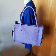 Hübscher Filztasche, 36x26x11 cm, lila (Lavendel)