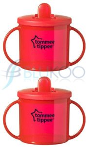 Tommee Tippee Essentials Basic First Cup Red (Pack of 2)