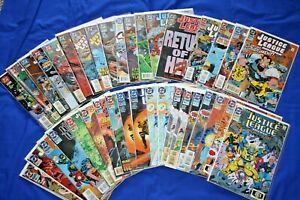 Justice League America 35 Comic Lot #80-113 Complete Run Volume 2 VF/NM 1987-96