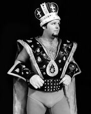 Pro Wrestler JERRY 'THE KING' LAWLER Glossy 8x10 Photo WWF Print WWE Poster
