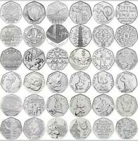 Rare Collectable 50p Coins Beatrix Potter Puddleduck Olympics Newton NHS EEC WWF