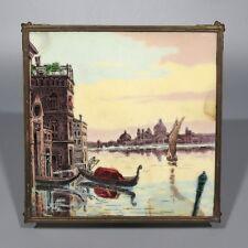 """Antique French Trivet, Venice, Lion's Feet, Stamped """"Déposé"""""""