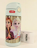 Disney FROZEN 2 Thermos FUNTAINER WATER BOTTLE Elsa Olaf 12oz Insulated Steel