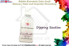 Dipping Solution Fluid | Edible Sugar Craft Cake Decorating | 50 ML