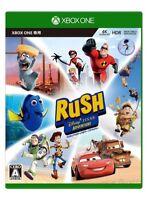 NEW Xbox One Rush Disney Pixar Adventure JAPAN Microsoft XOne import Japanese