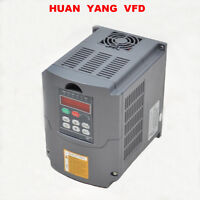 380V VARIABLE FREQUENCY DRIVE INVERTER VFD 2.2KW 3HP CE HUAN YANG BRAND
