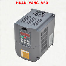 DE VFD Frequenzumrichter Variable Frequency Drive 220V 5,5KW 7,6HP 25A Inverter