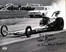 DON GARLITS SIGNED 11x14 PHOTO + BIG DADDY + 17 TIME WORLD CHAMPION PSA/DNA