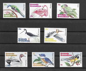 GRENADA - Grens.1995 Birds issue of 8 MINT NH
