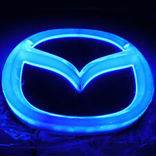 4D Car LED Real Logo Cold Light Auto Badge Rear Emblem Lamp For MAZDA8 MAZDA-CX7