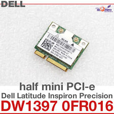 Wi-Fi WLAN WIRELESS CARD scheda di rete DELL MINI PCI-E DW1397 0FR016 NUOVO D29