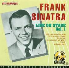 FRANK SINATRA - LIVE ON STAGE VOL.1 CD NEU D1223